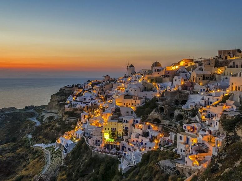 Santorini,Greece/Conde Nast